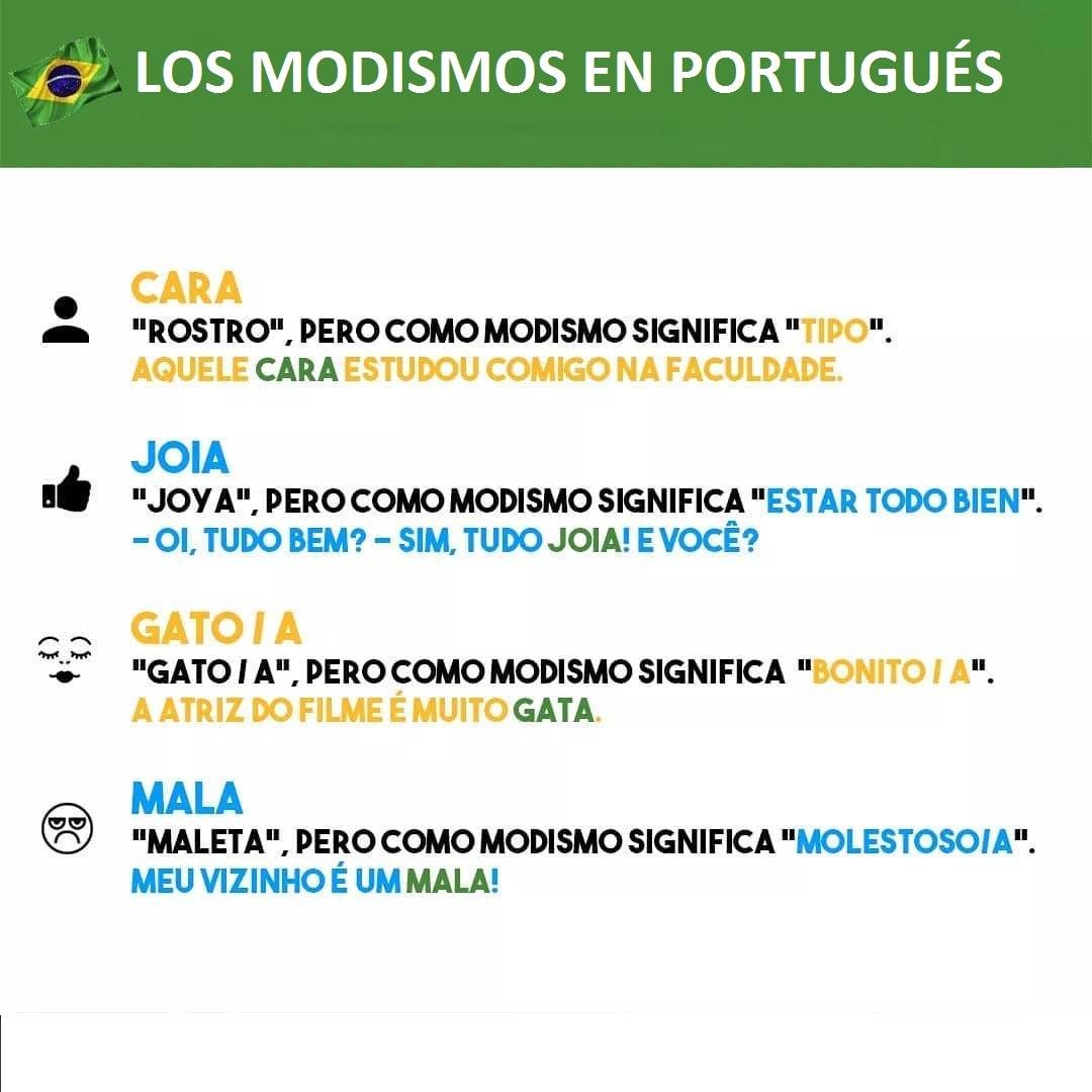 Modismos En Portugués Como Recurso Lingüístico Cultural