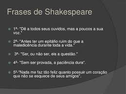 Shakespeare En Portugués Practicando El Idioma Con Frases